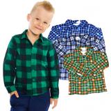 Рубашка для мальчиков, фланель 5-9 лет