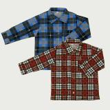 Рубашка для мальчиков, фланель 1-5 лет