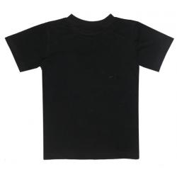 44-12001 Футболка черная, 98-110