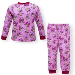 """44-1582573 """"Фея"""" пижама для девочек 1-5 лет, двухнитка, сирень"""