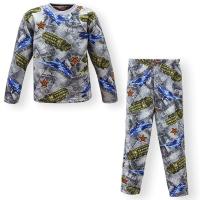 """44-6981571 """"Армия"""" пижама для мальчиков 6-9 лет, двухнитка"""