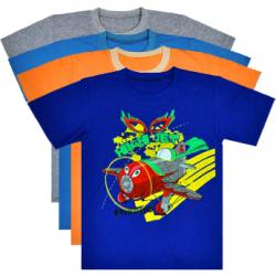 """44-6942 """"Hight Jet"""" футболка для мальчиков, кулирка 116-134"""