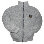 """44-69813 """"СПОРТ"""" костюм с курткой на молнии 6-9 лет, пике, серая искра"""