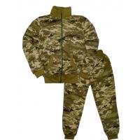 """44-1015101 """"Камуфляж-ЦТ"""" костюм на молнии, 10-15 лет, двухнитка с начёсом"""
