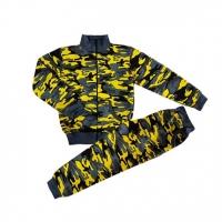 """44-1015231 """"Камуфляж"""" костюм, пенье, 10-15 лет, жёлтый"""