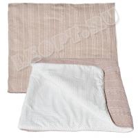 ЛЕО. Одеяло вязаное на синтепоне 100х100