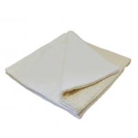 ЛЕО Одеяло на синтепоне с мехом, молочный