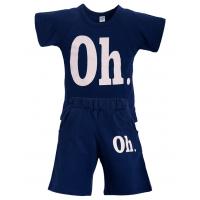"""11-372187 """"Oh."""" Комплект с бриджами, 3-7 лет, темно-синий"""