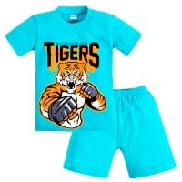 """3721-35 """"MMA Tigers"""" комплект для мальчиков, 3-7 лет"""