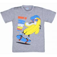 """5801-021 """"Скейт"""" футболка для мальчиков 5-8 лет, серый"""