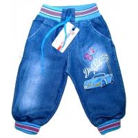 """""""Speed"""" брючки джинсовые 1-4 года"""