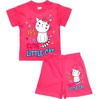 "1422-62 ""Little Cat"" комплект, 1-4 года, розовый"