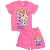 """1422-66 """"Skater Bunny"""" комплект, 1-4 года, розовый"""