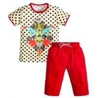 """3722-101 """"Джунгли"""" комплект с бриджами для девочек, 3-7 лет"""