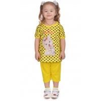 """3722-103 """"Hello!"""" комплект с бриджами для девочек, 3-7 лет"""