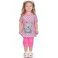 """3722-104 """"Cute"""" комплект с бриджами для девочек, 3-7 лет"""
