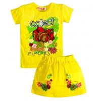 """3722-42 """"Collect Memories"""" комплект с юбкой для девочек, 3-7 лет"""