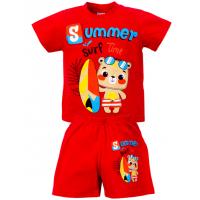 """1421-73 """"SAMMER"""" комплект для мальчика, 1-4 года, красный"""