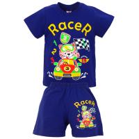 """1421-77 """"RACER"""" комплект для мальчика, 1-4 года, синий"""