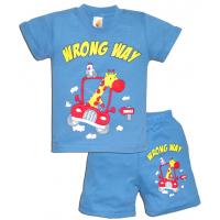 "15-142108 ""WRONG WAY"" комплект, 1-4 года, голубой"