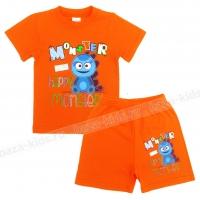 """1421-7 """"Monster"""" комплект для мальчиков, 1-4 года"""