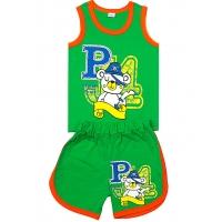 """1431-21 """"Pirate"""" комплект майка+шорты, 1-4 года"""