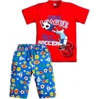 """3721-42 """"Футбол"""" комплект с бриджами для мальчиков 3-7 лет"""