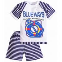 """3721-52 """"Blue Ways"""" комплект для мальчиков, 3-7 лет"""