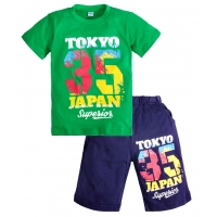 """5821-27 """"Tokyo"""" комплект для мальчика, 5-8 лет"""
