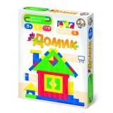 Магнитная мозаика без игрового поля «Домик»