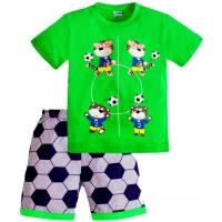 """1421-39 """"Футболная Команда"""" комплект для мальчиков, 1-4 года"""