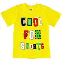 "1401-5 ""Cool for Sports"" Футболка для мальчиков, 1-4 года"