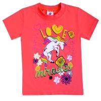 "1402-41 ""Love Miracles"" футболка, 1-4 года"