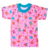 """1502-71 """"Приятные Сны"""" футболка для девочек 1-5 лет"""