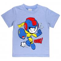 """1401-19 """"COOL!"""" Футболка для мальчиков, 1-4 года, светло-голубой"""