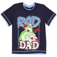 """1401-62 """"Rad Dad"""" Футболка для мальчиков, 1-4 года"""