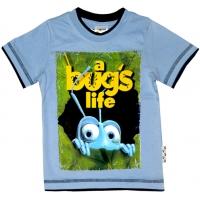 """1401-63 """"A Bugs Life"""" Футболка для мальчиков, 1-4 года"""