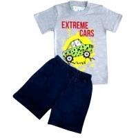 """1421-32 """"Extreme cars"""" комплект для мальчиков, 1-4 года"""