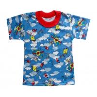 """1501-76 """"Полёт"""" футболка для мальчиков 1-5 лет"""