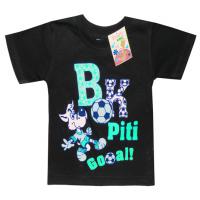 """2501-14 """"GOOAL"""" футболка для мальчиков 2-5 лет, черный"""