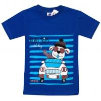 """2601-8 """"DOG"""" футболка для мальчиков 2-6 лет"""