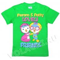 "1401-3093 ""Friends"" футболка, 1-4 года"