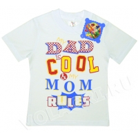 "1401-3100 ""DAD"" футболка, 1-4 года"