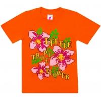 "4802-20 ""Tropic Flower"" футболка, 4-8 лет"
