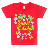 "4802-47 ""Sweet"" футболка, 4-8 лет"