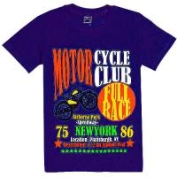 """4801-21 """"MotoClub"""" футболка для мальчиков, 4-8 лет"""