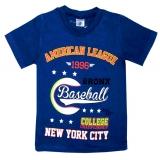 """4801-35 Футболка для мальчиков """"Baseball"""", 4-8 лет"""
