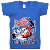 "10-58165 ""URBAN STYLE"" футболка, 5-8 лет, синий"