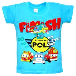 "10-58168 ""FINISH"" футболка, 5-8 лет, голубой"