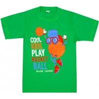 """5801-11 """"Play Basket"""" футболка для мальчиков 5-8 лет"""